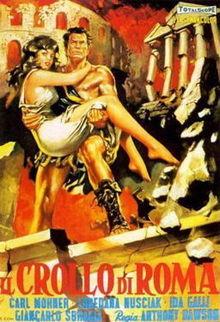 poster Il Crollo Di Roma (1963)