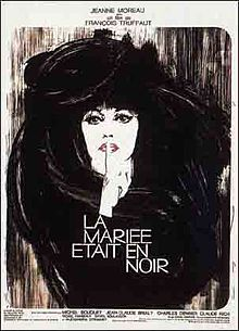 poster La Mariée Était En Noir (1968)
