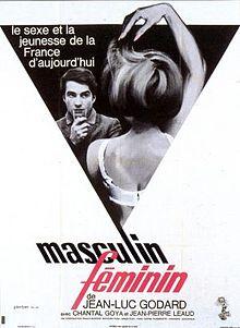 poster Masculin feminin 15 faits precis (1966)