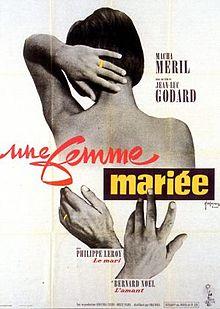 poster Une Femme Mariee (1964)