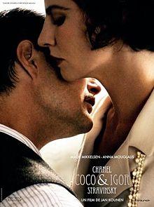 poster Coco Chanel & Igor Stravinsky (2009)