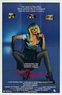 poster Crimes of Passion (1984)