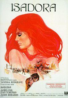 poster Isadora (1968)