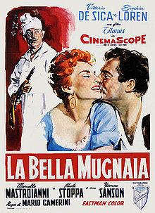 poster La Bella Mugnaia - Frumoasa Morăriță (1955)