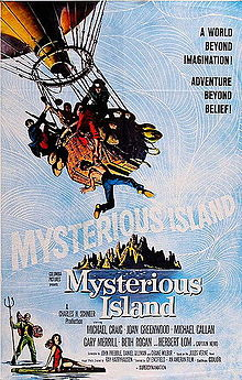 poster Mysterious Island (1961)