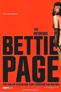 poster The Notorious Bettie Page (2005)