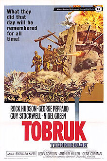 poster Tobruk (1967)