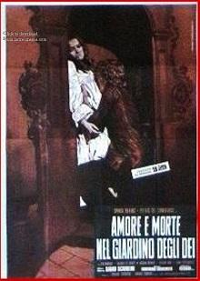 poster Amore e morte nel giardino degli dei (1972)