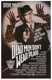 poster Dead Men Don't Wear Plaid (1982)