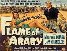 poster Flame Of Araby (1951)