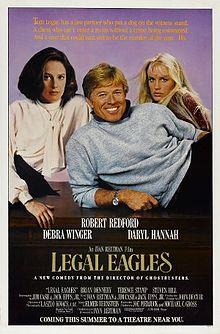 poster Legal Eagles (1986)