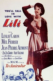 poster Lili (1953)
