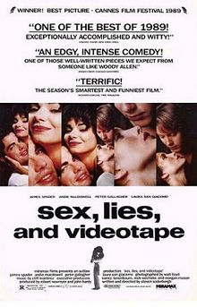 poster Sex Lies And Videotape (1989)