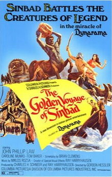 poster The Golden Voyage Of Sinbad (1973)
