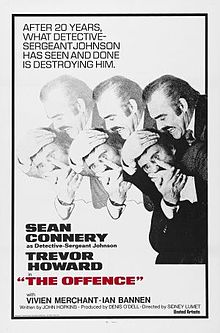 poster The Offence (1972)