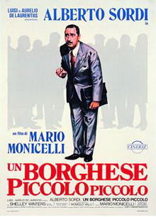 poster Un Borghese Piccolo Piccolo (1977)