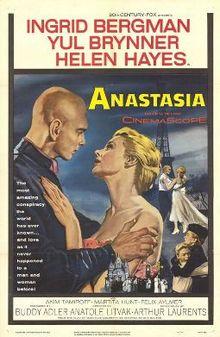 poster Anastasia (1956)