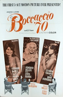 poster Boccaccio '70 (1962)
