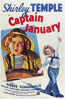 poster Captain January (1936)