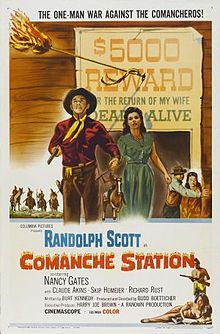 poster Comanche Station (1960)
