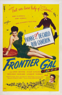 poster Frontier Gal (1945)