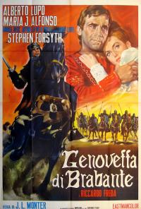 poster Genoveffa di Brabante - The Revenge of the Crusader (1964)
