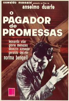 poster O Pagador de Promessas - Keeper Of Promises (1962