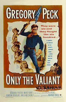 poster Only The Valiant (1951)