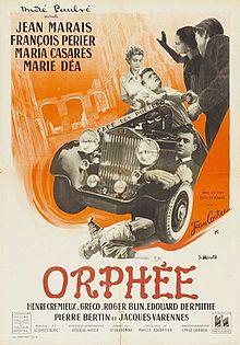poster Orphee - Orpheus (1950)