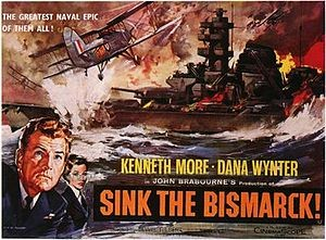 poster Sink the Bismarck! (1960)
