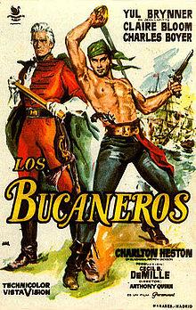 poster The Buccaneer (1958)