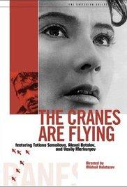 poster The Cranes Are Flying - Letjat zhuravli (1957)
