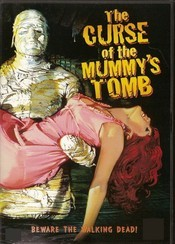 poster The Curse of The Mummy's Tomb (1964)