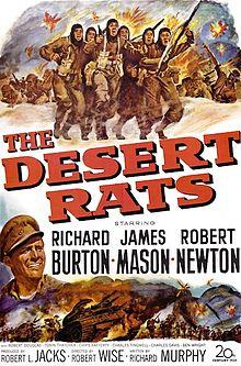 poster The Desert Rats (1953)