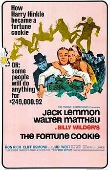 poster The Fortune Cookie (1966)