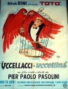 poster Uccellacci e uccellini (1966)