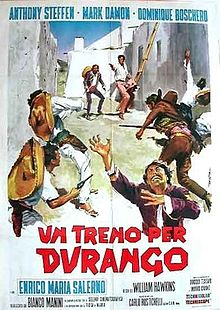 poster Un treno per Durango - Train for Durango (1968)