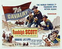 poster 7th Cavalry (1956)