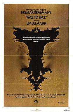poster Ansikte mot ansikte aka Face to Face (1976)