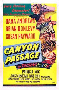 poster Canyon Passage (1946)