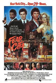 poster Fear City (1984)