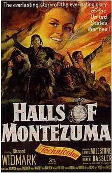 poster Halls Of Montezuma (1950)