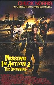 poster Missing in Action 2 The Beginning (1985)