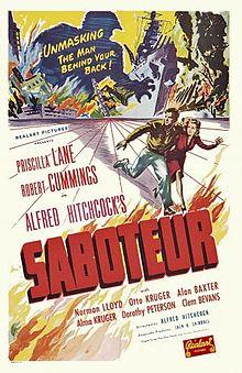 poster Saboteur (1942)