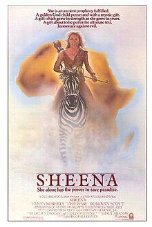 poster Sheena (1984)
