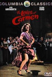 poster The Loves Of Carmen (1948)