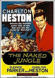 poster he Naked Jungle (1954)
