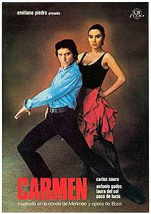 poster Carmen (1983)