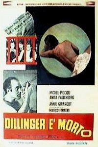 poster Dillinger e morto (1969)