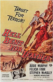 poster Hell Bent For Leather (1960)